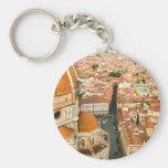 Florence, Italy (Duomo) Basic Round Button Keychain