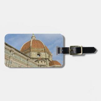 Florence Italy Duomo Luggage Tag
