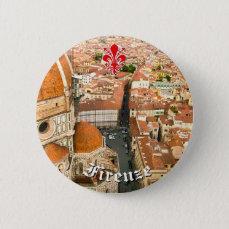 Florence, Italy (Duomo) Pinback Button