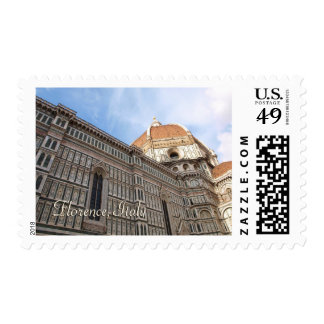 Florence Italy Duomo Travel Photo Stamps