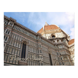 Florence Italy Duomo Travel Photo Postcard