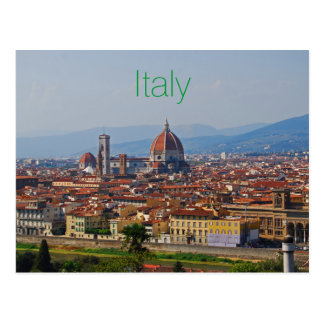 Florence Italy Duomo View Postcard