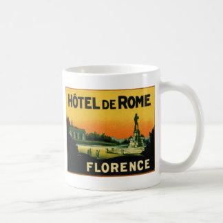 Florence Italy HOTEL DeROME Coffee Mug