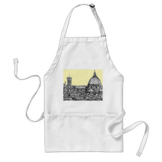 Florence Italy in cream Aprons