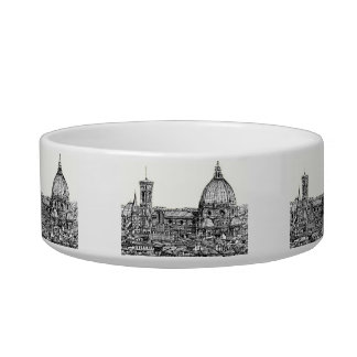 Florence Italy in cream Bowl
