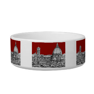 Florence Italy in red Bowl