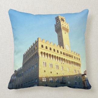 Florence, Italy (Piazza della Signoria) Throw Pillow
