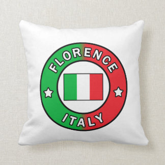 Florence Italy pillow