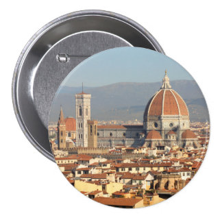 Florence, Italy Pinback Button