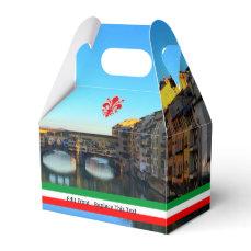 Florence, Italy | Ponte Vecchio Themed Wedding Favor Box