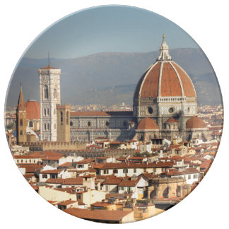 Florence, Italy Porcelain Plate