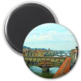 Florence, Italy shopping bridge Fridge Magnet