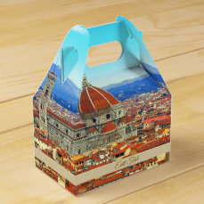 Florence, Italy | Themed Wedding Favor Box