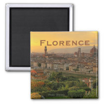 Florence Italy Travel Photo Souvenir Fridge Magnet