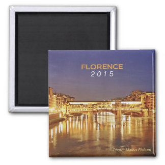 Florence Italy Travel Souvenir Magnet Change Year