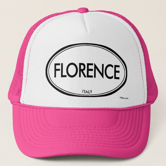 Florence, Italy Trucker Hat