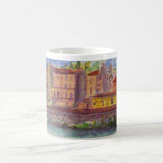 Florence Italy, view across the Arno Coffee Mug