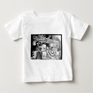 Florence Jaffray Hurst Daisy Harriman Suffragette Baby T-Shirt