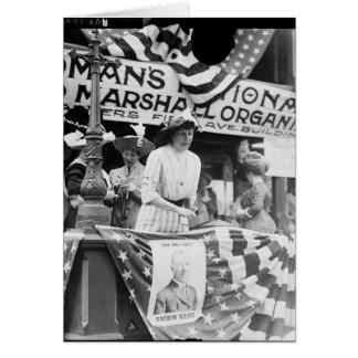 Florence Jaffray Hurst Daisy Harriman Suffragette Card