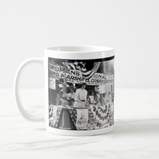 Florence Jaffray Hurst Daisy Harriman Suffragette Classic White Coffee Mug