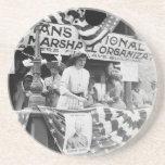 Florence Jaffray Hurst Daisy Harriman Suffragette Coasters