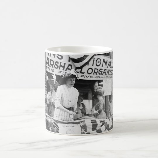 Florence Jaffray Hurst Daisy Harriman Suffragette Coffee Mug