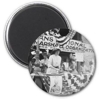 Florence Jaffray Hurst Daisy Harriman Suffragette Magnet