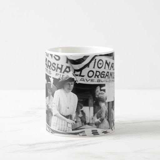 Florence Jaffray Hurst Daisy Harriman Suffragette Coffee Mugs