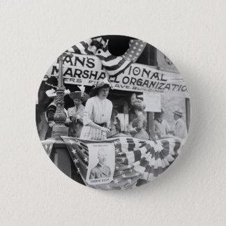 Florence Jaffray Hurst Daisy Harriman Suffragette Pinback Button