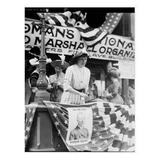 Florence Jaffray Hurst Daisy Harriman Suffragette Postcard