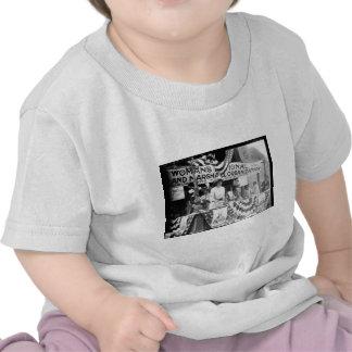 Florence Jaffray Hurst Daisy Harriman Suffragette Tee Shirts