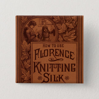 Florence Knitting Silk cover Button