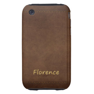 FLORENCE Leather-look Customised Phone Case