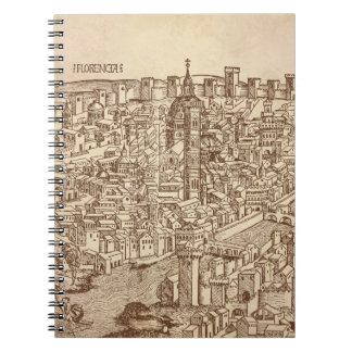 Florence, Medieval Woodcut Note Book