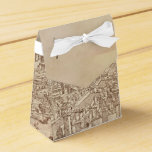 Florence, Medieval Woodcut Party Favor Boxes