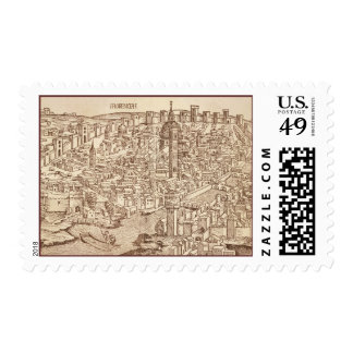 Florence, Medieval Woodcut Postage