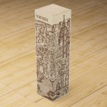 Florence, Medieval Woodcut Wine Box