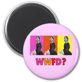 """Florence Nightengale Gifts """"WWFD?"""" Fridge Magnets"""