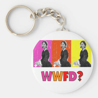 """Florence Nightengale Gifts """"WWFD?"""" Keychain"""