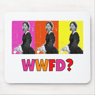 "Florence Nightengale Gifts ""WWFD?"" Mouse Pad"