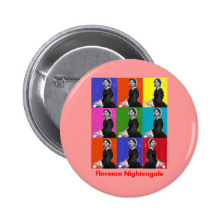florence nightengale POPART T-Shirts & Gifts Button