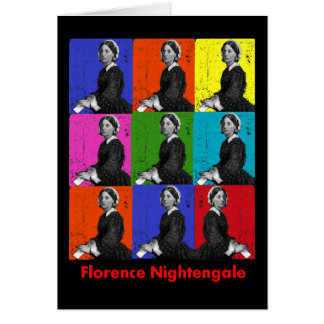 florence nightengale POPART T-Shirts & Gifts Card