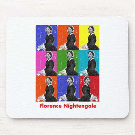 florence nightengale POPART T-Shirts & Gifts Mouse Pads