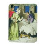 Florence Nightingale (1820-1910) de 'píos en Imán De Vinilo