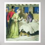 Florence Nightingale (1820-1910) de 'píos en Impresiones
