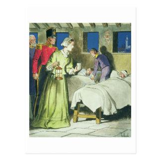 Florence Nightingale (1820-1910) de 'píos en Postal