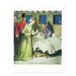 Florence Nightingale (1820-1910) de 'píos en Postales