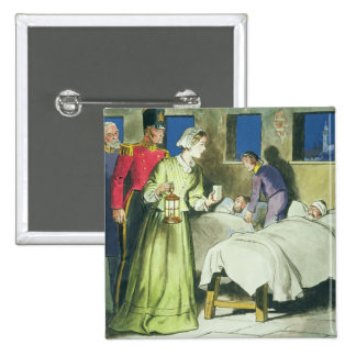 Florence Nightingale (1820-1910) from 'Peeps into Button
