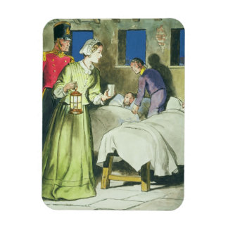 Florence Nightingale (1820-1910) from 'Peeps into Magnet