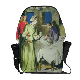 Florence Nightingale (1820-1910) from 'Peeps into Messenger Bag